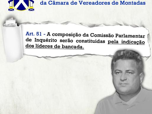 CPI da Seca: Presidente da Câmara de Montadas, poderá responder por Improbidade Administrativa