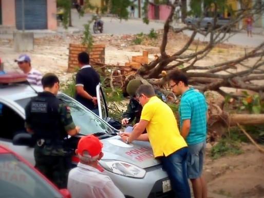 Prefeitura de Montadas é autuada pela Polícia Ambiental por corte de árvores