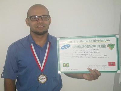 Prefeitura de Montadas pagou a UBD por premiações da Secretaria de Educação