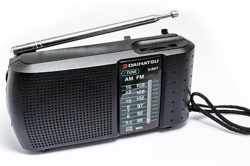 Radio Portátil Am Fm Daihatsu D-rk7