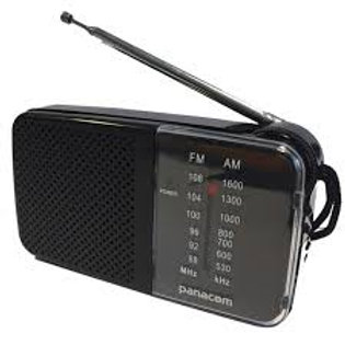 Radio Portatil De Bolsillo Am Fm Enturada Auricular Pilas Aa