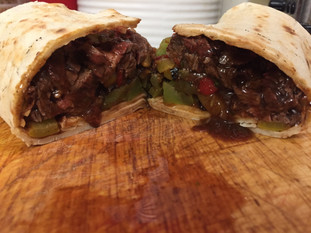 Chinese-Style Steak Wraps with Far East Chimichurri