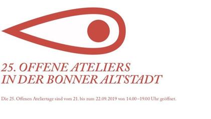 25. Offne Ateliers in der Bonner Altstadt