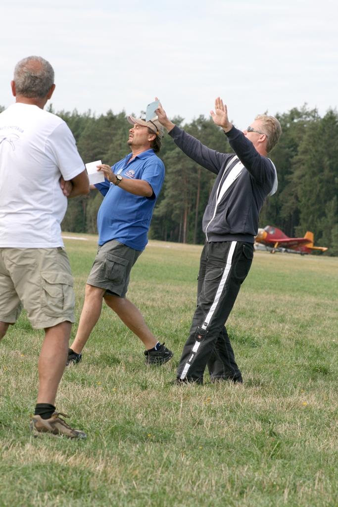 Dva Sportovci při tréninku