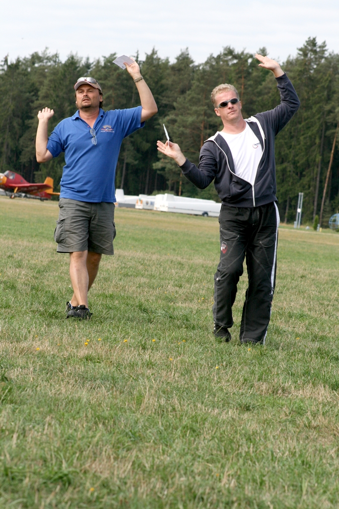 Nácvik akrobatické sestavy