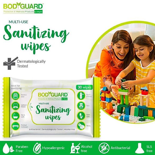 Bodyguard Multi-purpose Sanitizing Wipes