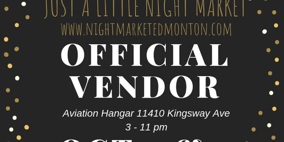 Just A Little Night Market (Vendor Participant)