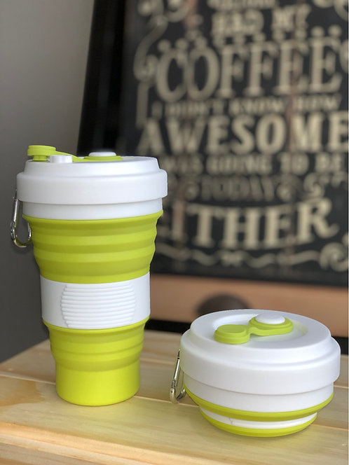Collapsible Coffee Cups 550ml