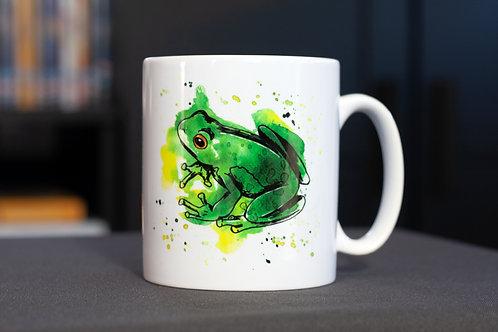 Frog Mug | 12oz Ceramic Mug