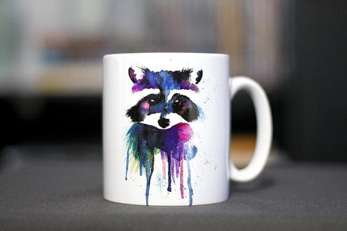 Raccoon Mug | 12oz Ceramic Mug