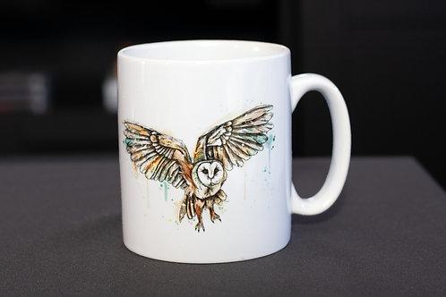 Barn Owl Mug | 12oz Ceramic Mug