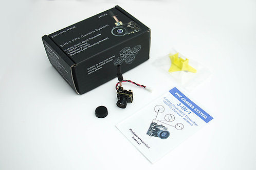 (D) FPV Camera (Whoop Pro plug n' play) + two extra cables
