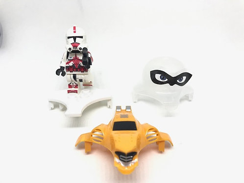 Canopy Set  for BumbleB Whoop Pro and StarLight ( included Lego and Sticker)