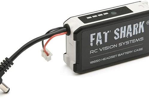 Fat Shark FSV1814 18650 Li-Ion Cell Battery Holder Goggle Headset Battery Case f
