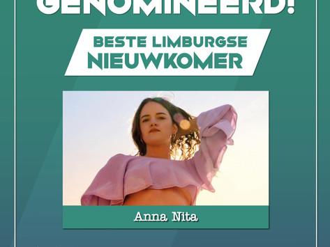 Genomineerd! Limburgse Popprijs categorie 'Beste Nieuwkomer'