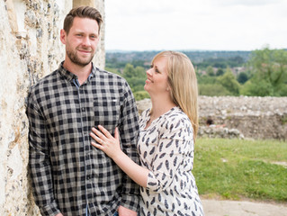 Engagement Day - Donnington Castle, Newbury with Kate & Ash