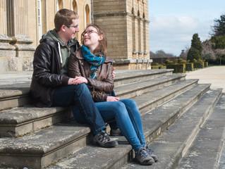 Engagement Day - Blenheim Palace, Oxfordshire with Rachel & Phil
