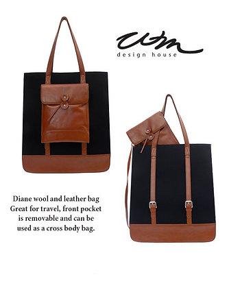 Diane Black Handbag