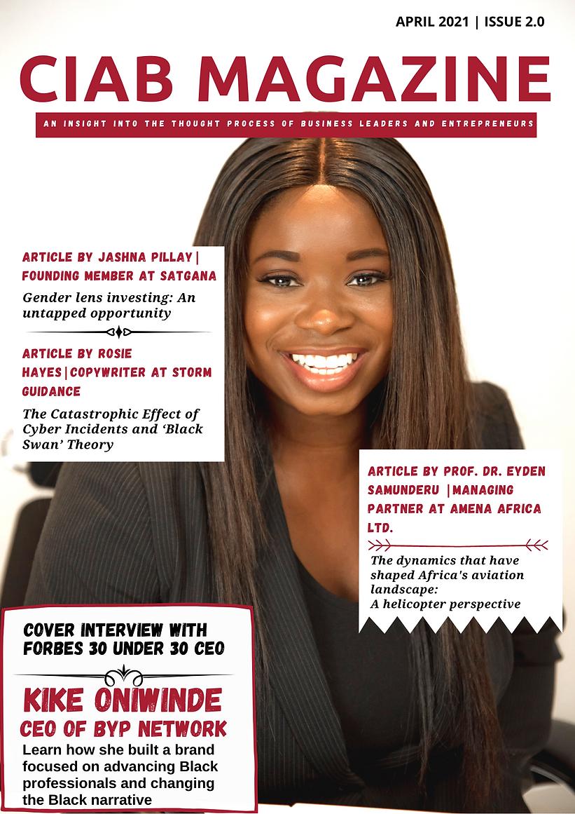 ChangeinAfrica Business Magazine Issue 2