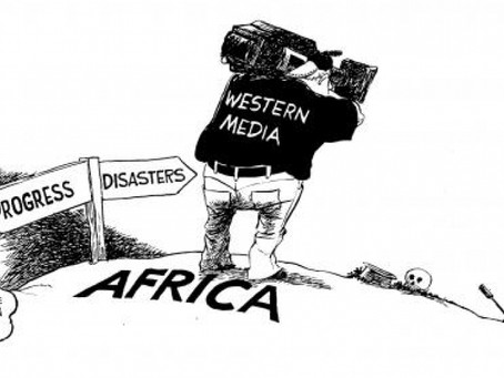 Bias of western media when reporting on African issues