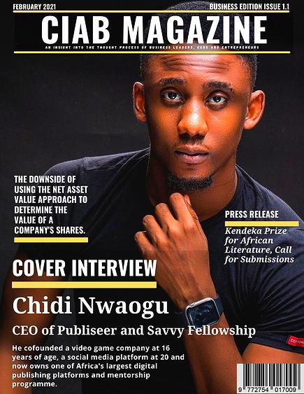 CIAB Magazine Issue 1.1