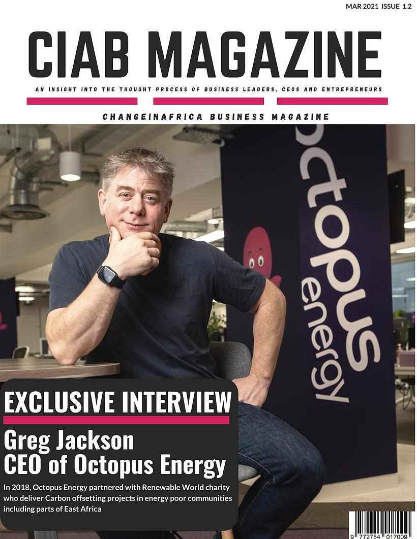 ChangeinAfrica Business Magazine Issue 1