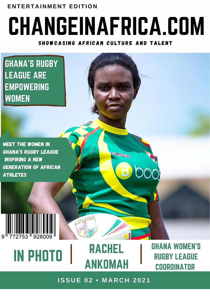 ChangeinAfrica Entertainment Magazine Is