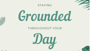 Staying Grounded at Work