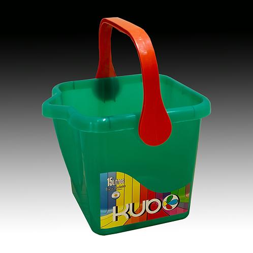 Balde Plastico Kubo (10 unidades)