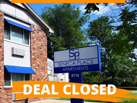 Recent Transaction: Seneca Place Apartments