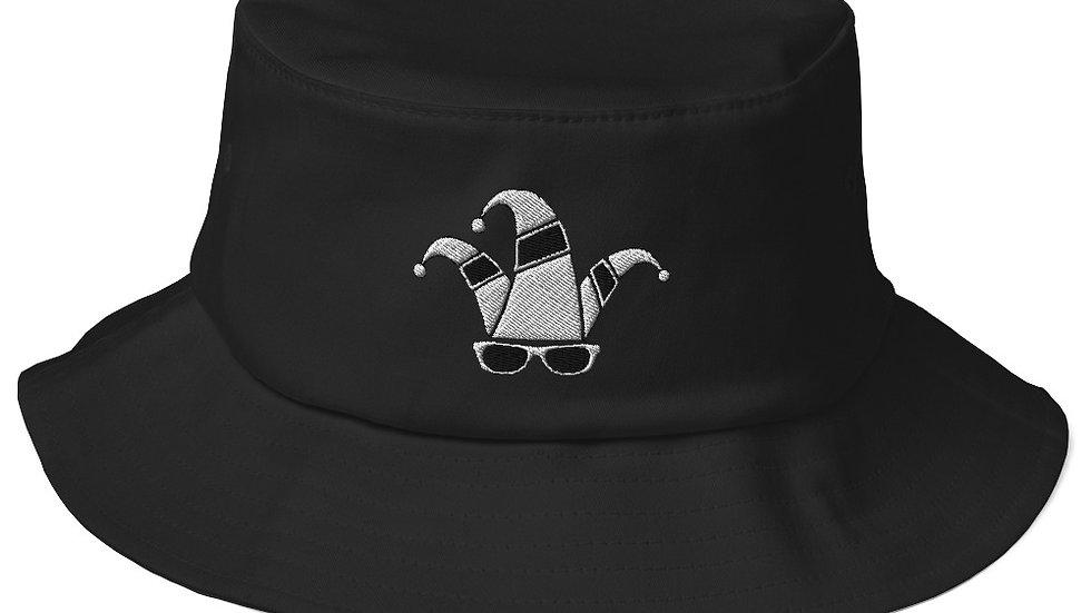 Dimwitted Studios Glasses Old School Bucket Hat