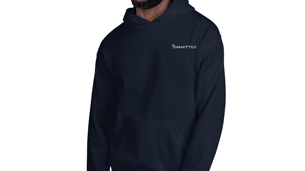 Dimwitted Embroidered Hoodie