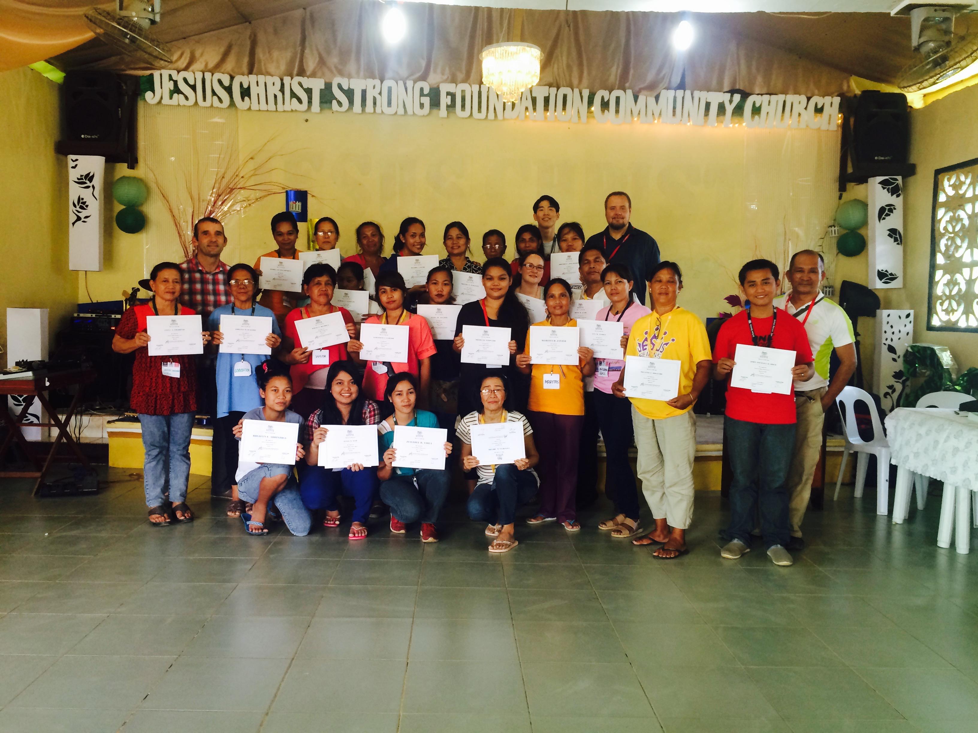 Amor Europe training certificates