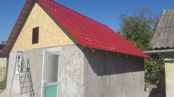 Nearly finished house in Moldova