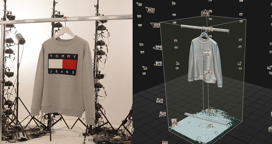 3d scanning, Tommy hilfiger, sweater