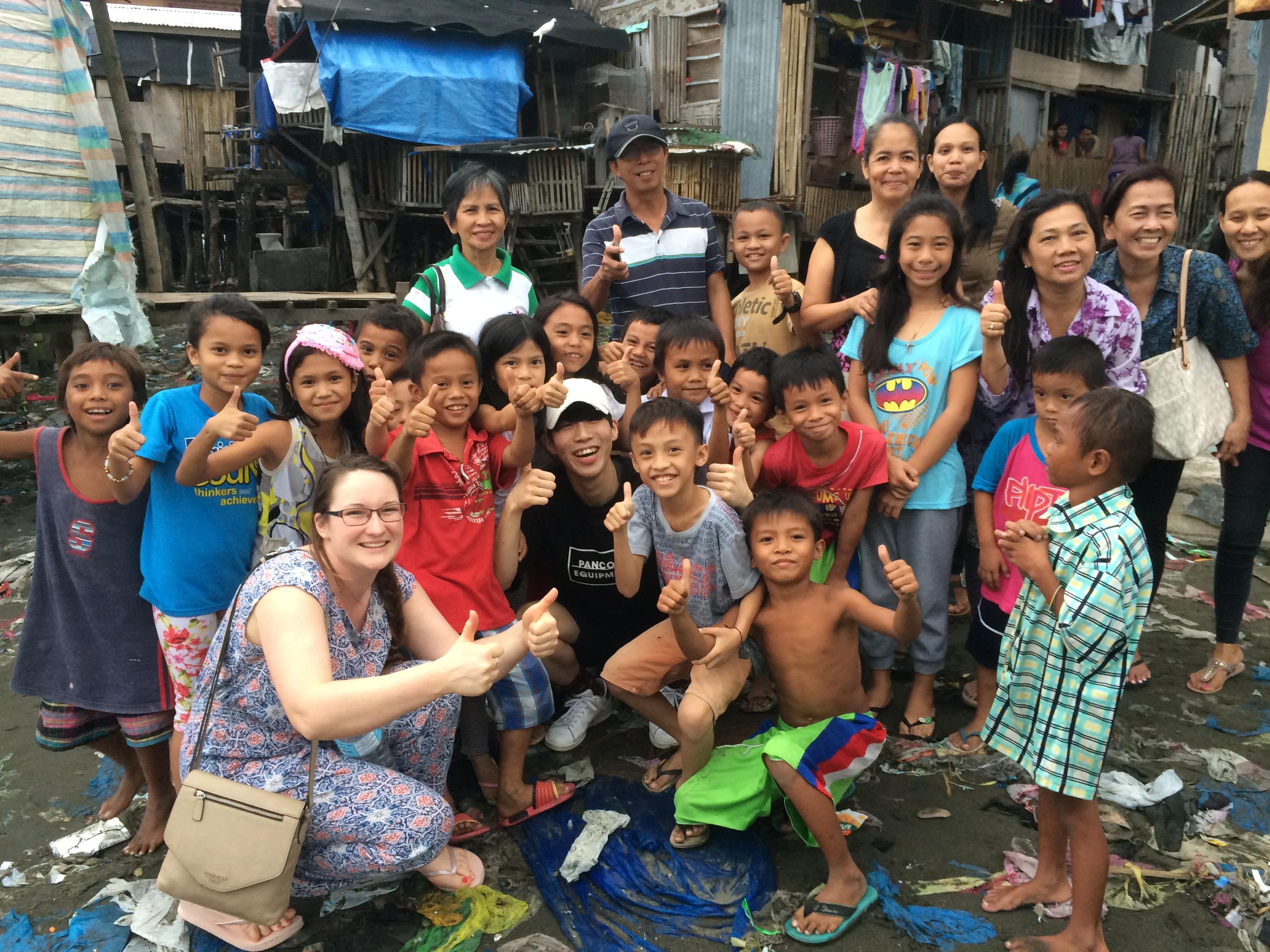 Amor Europe with street children