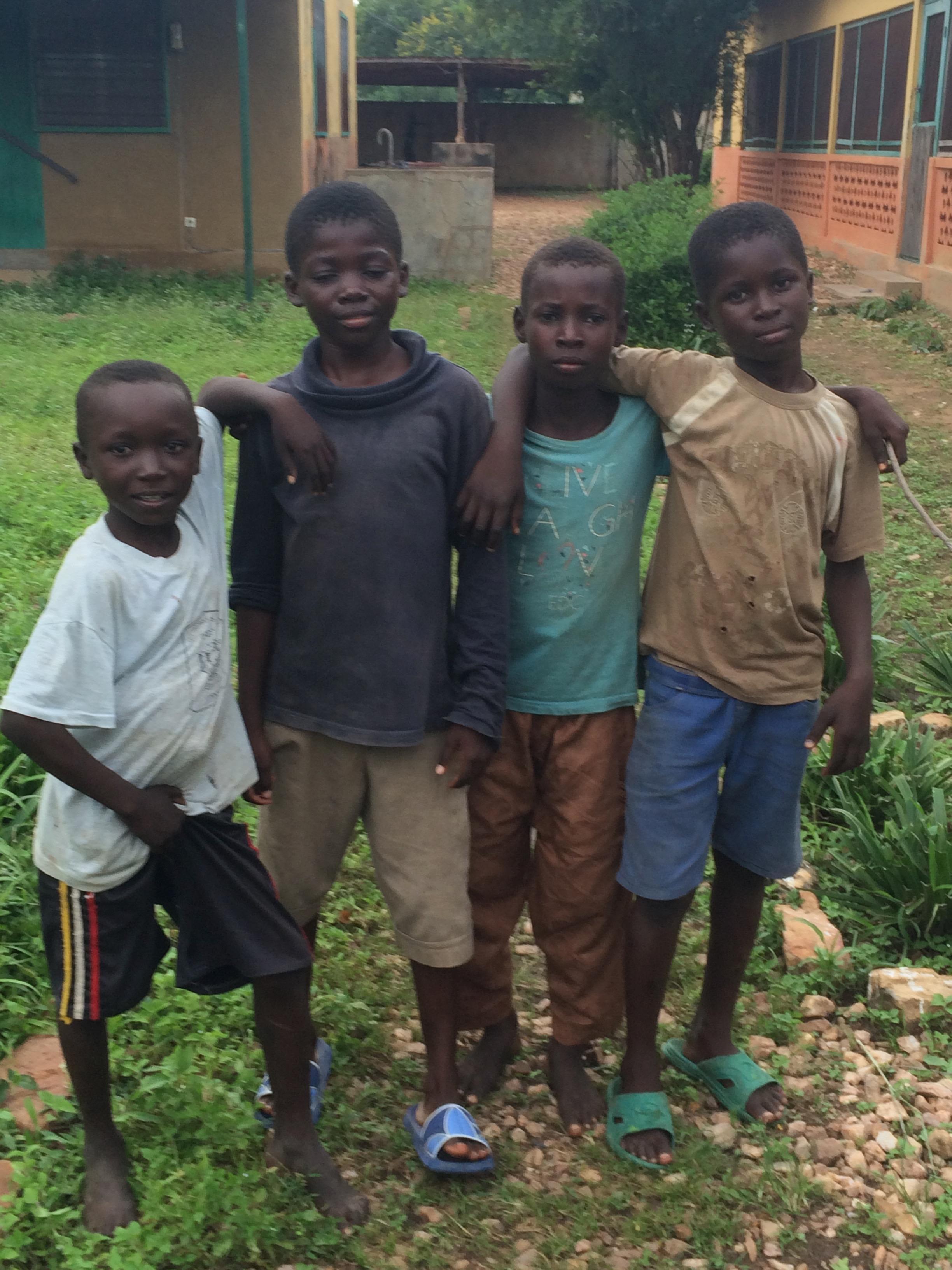 Street children West Africa