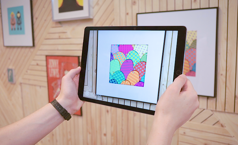 PingWinz, Augmented Reality, App