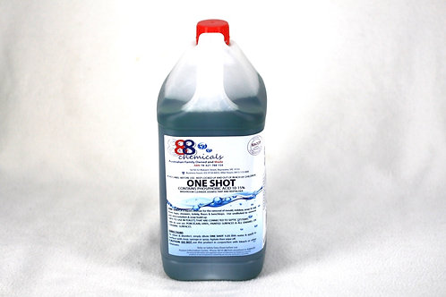 One Shot Washroom Cleanser and Disinfectant - 5 Litre