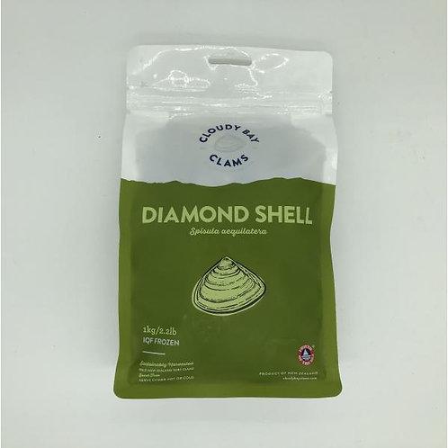 Diamond Shell Clams - 1 kg
