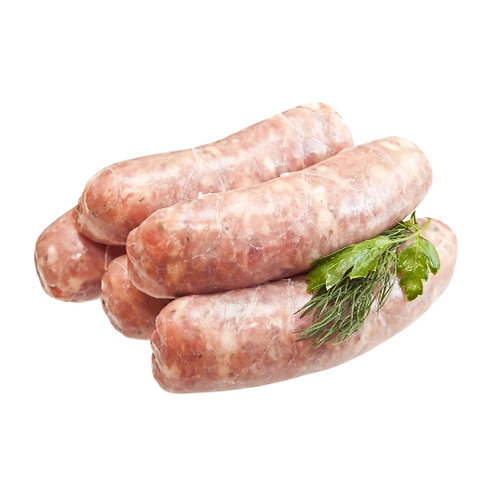 Lamb and Rosemary Sausages Thick - 1kg Pack