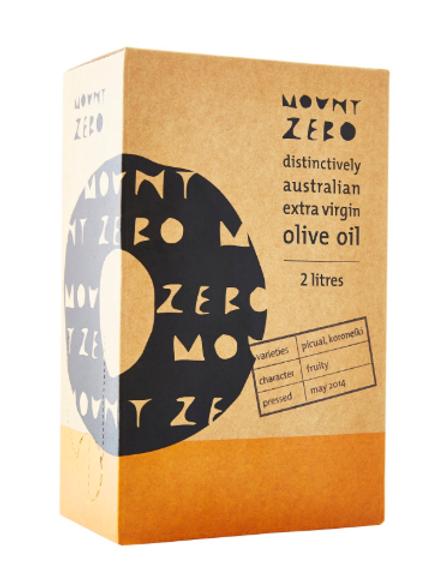 Mount Zero Extra Virgin Olive Oil - 2 Litre