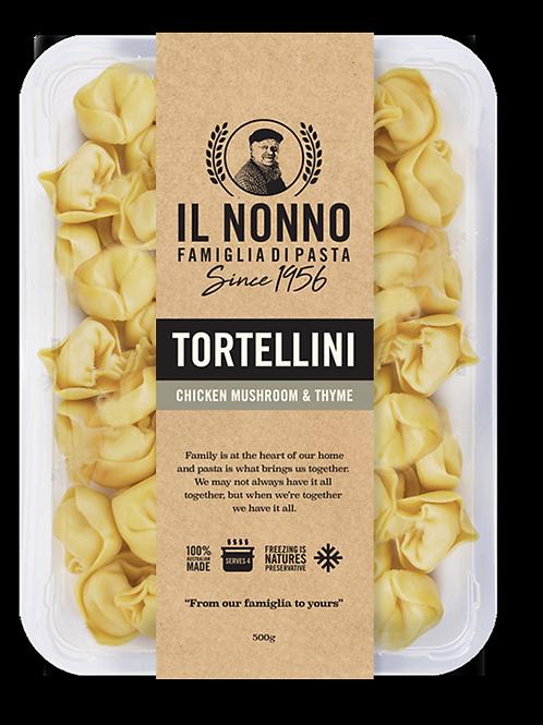 Tortellini - Chicken, Mushroom and Thyme (frozen)