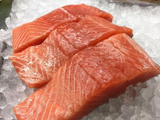 Salmon, Atlantic Salmon, Red Coral Seafood