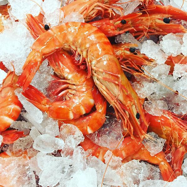 Prawns, Red Coral Seafood