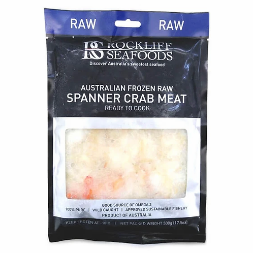 Spanner Crab Meat - Raw
