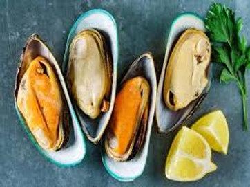 N.Z. Half Shell Mussels - 1kg