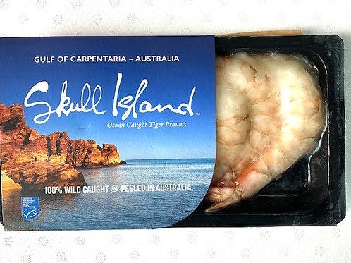 Jumbo Peeled Skull Island Prawns (180gm Pack)
