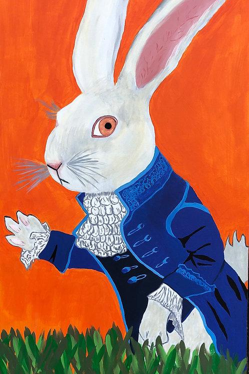 "24""x 48"" Brenda's Bunny"
