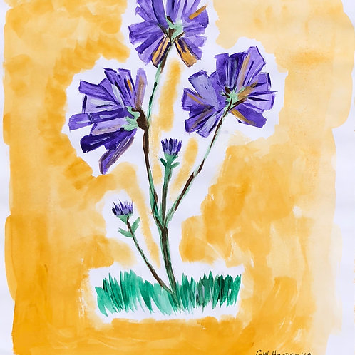 "9""x 11"" The Color Lavender (Frame Included)"